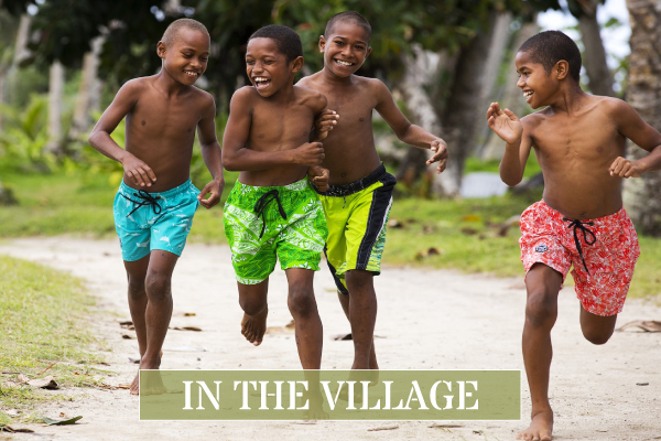 Visit our local Fijian Village